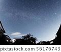 在東近江的滋賀,英仙座流星雨 56176743