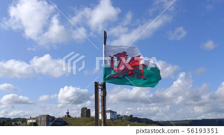 British Welsh Flag 56193351