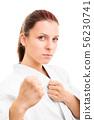karate, female, fighter 56230741