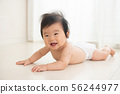 Baby naked diapers, boys and infants 56244977