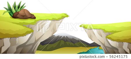 Natural environment lanscape scene 56245175
