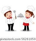 Profession costume of chef for kids 56261050