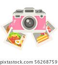 數碼相機(數碼相機)和照片(照片)的插圖 56268759