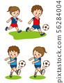 Soccer shoot 56284004