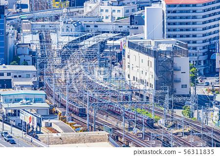 한큐 전철 열세 부근 56311835
