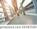 athlete, bridge, marathon 56383584