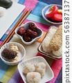 한국의 전통음식 한과, 송편, 모듬한과, 대추, 깨강정, 약과 56387137
