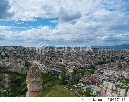 Goreme Town Scenery_Cappadocia_Turkey 56417111