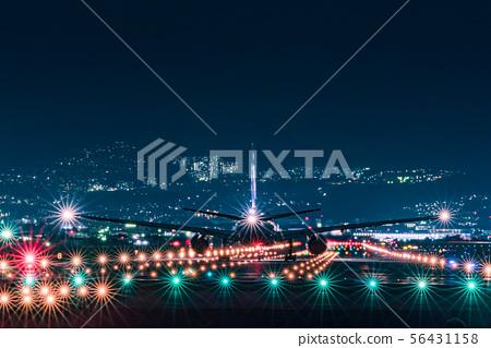 在伊丹機場(大阪國際機場)降落 56431158