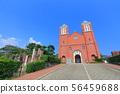 [나가사키 현] 맑은 날의 카톨릭 우라 카미 교회 56459688