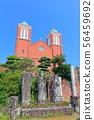 [나가사키 현] 맑은 날의 카톨릭 우라 카미 교회 56459692