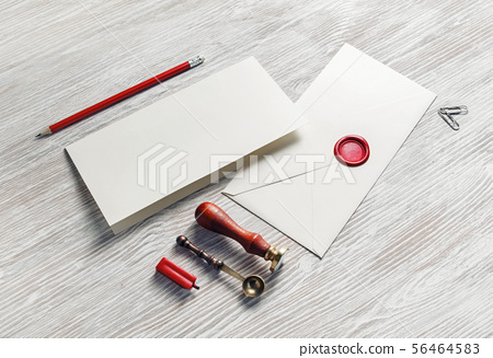 Stationery and envelope 56464583
