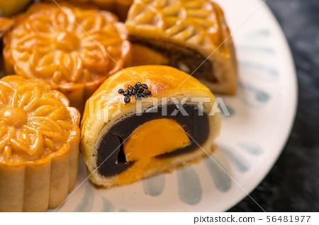 中秋節 蛋黃酥 月餅 特寫 Moon Festival yolk pastry cake げっぺい 56481977