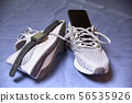 Running shoes and various accessories 56535926