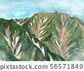 从Yakushidake看到的Senjogatake [Mt. 56571849