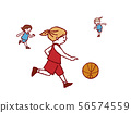 농구 드리블 56574559