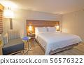 American luxury hotel room 56576322