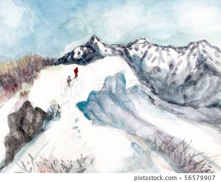 小倉山에서 원하는 桧岳 · 毛猛山 56579907
