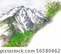 Inugatake seen from Mt. Shiratori 56580462