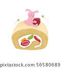 卷蛋糕 56580689