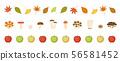 Autumn line material 56581452