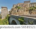 Medieval hilltop village Sartene in Corsica, 56585521