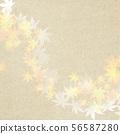Background-Japanese-Japanese style-Japanese pattern-Japanese paper-Autumn leaves-Autumn 56587280