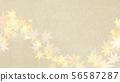 Background-Japanese-Japanese style-Japanese pattern-Japanese paper-Autumn leaves-Autumn 56587287