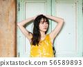 여성 여름 UV 케어 패션 56589893