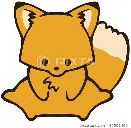 Fox clipart 56591498