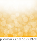 Yellow bokeh, background image, vector 56591970