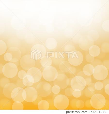 Yellow bokeh, background image, vector 56591970