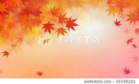 배경 - 일본 - 일본식 - 일본식 디자인 - 종이 - 단풍 - 가을 56596281