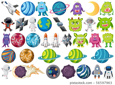 Large space themed set 56597963