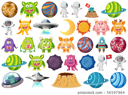 Large space themed set 56597964