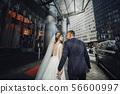 Beautiful wedding couple 56600997