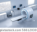lab with mri scan machine 56612030