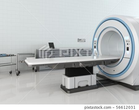 mri scan machine in room 56612031