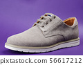 One gray modern man shoe 56617212