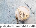 Hungarian Esterhazy cake 56619586