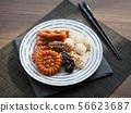 한국의 전통음식 한과, 모듬한과, 깨강정, 약과, 찰떡 56623687