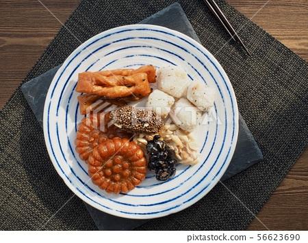한국의 전통음식 한과, 모듬한과, 깨강정, 약과, 찰떡 56623690