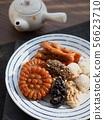 한국의 전통음식 한과, 송편, 모듬한과, 대추, 깨강정, 약과 56623710