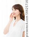 美麗的形象(年輕的女人 56625716