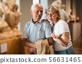 Couple looking at exhibits 56631465