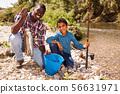 Portrait of fishermen 56631971