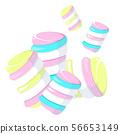 Sweet, cute tasty little colored zephyr 56653149