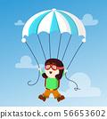 funny happy boy  56653602