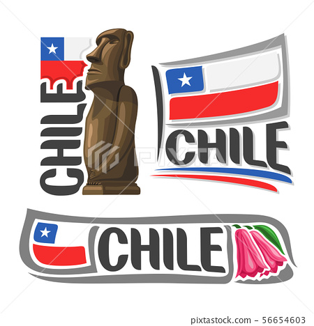 Vector logo for Chile 56654603