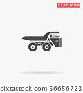 Large mining dumper tipper 56656723